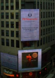 Aretha Franklin Times Square