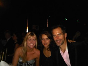 5 Alarm's Mary Lorraine Stewart with Mark Wike (Damages) and wife Shay