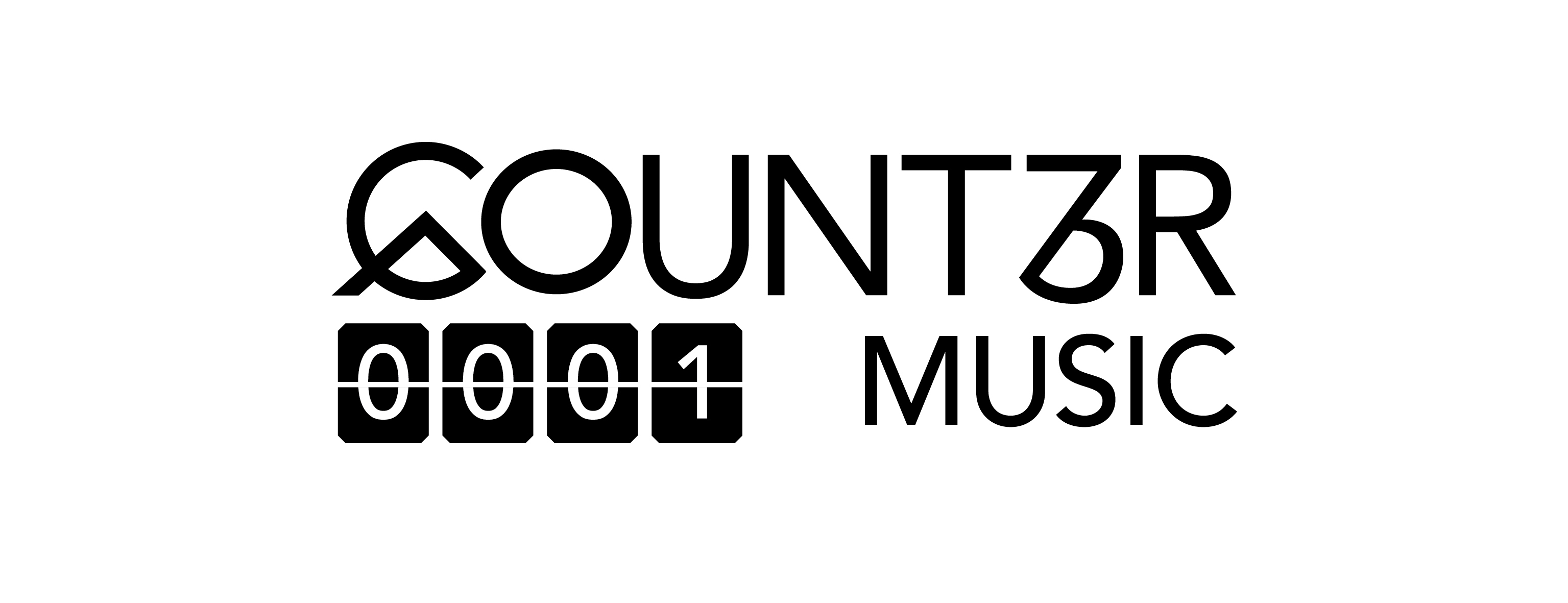 Counter Music Logo White Background